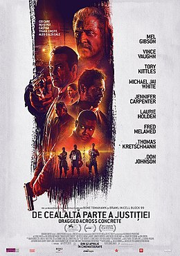 poster Dragged Across Concrete (2018)