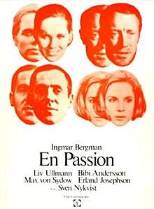 poster En passion (1969)