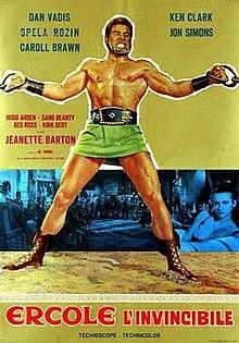 poster Ercole l'invincibile (1964)