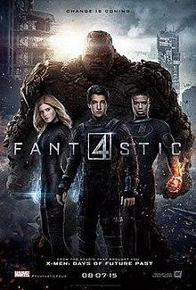 poster Fantastic Four (2015)