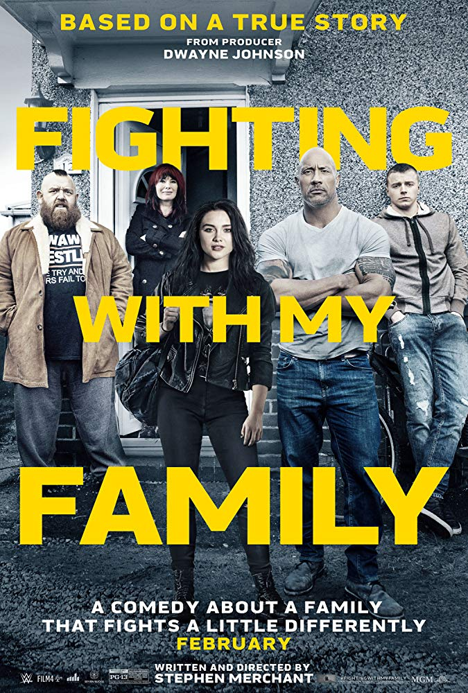 poster Fighting with My Family (2019)