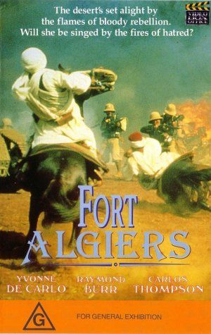 poster Fort Algiers (1953)