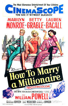 poster How to Marry a Millionaire (1953)