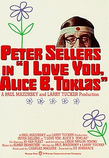 poster I Love You, Alice B Toklas! (1968)