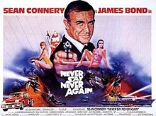 poster James Bond Never Say Never Again (1983)