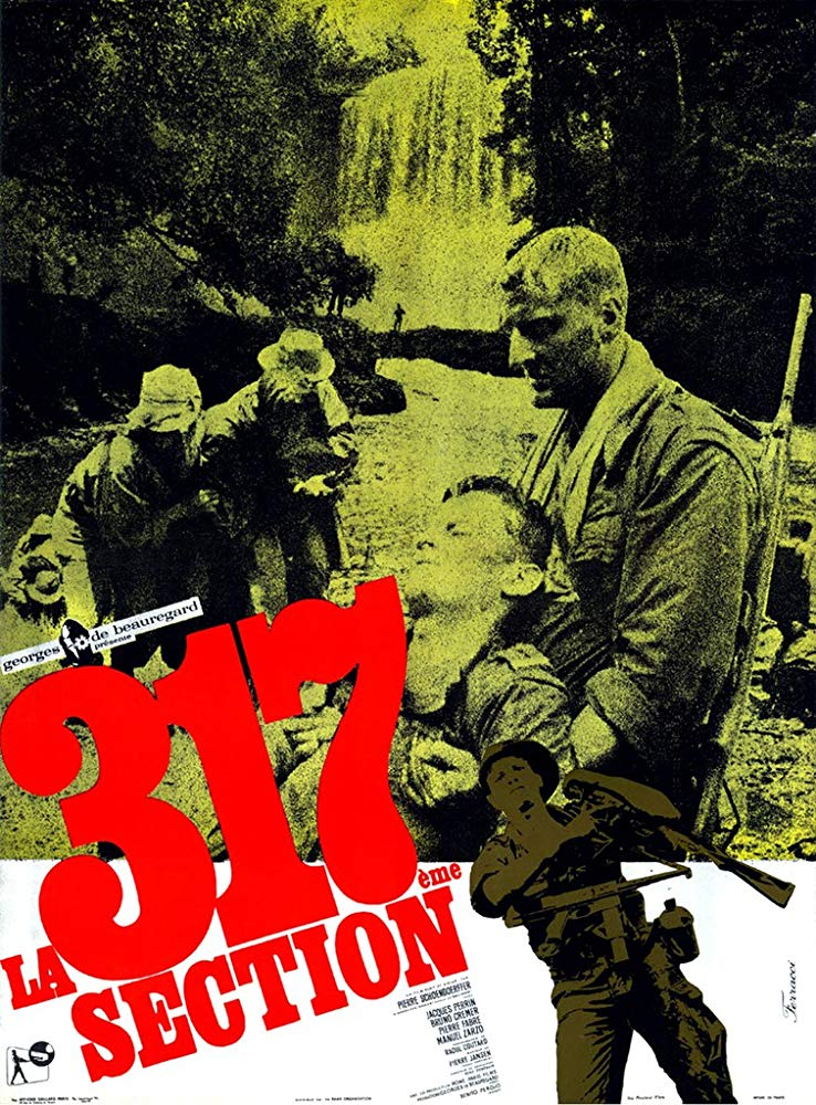 poster La 317eme section (The 317th Platoon) (1965)