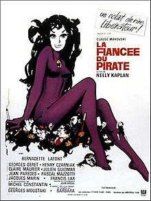 poster La fiancee du pirate (1969)