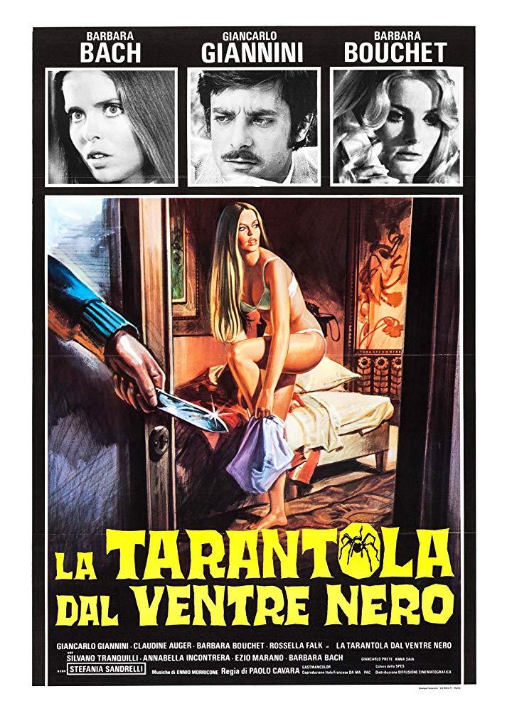 poster La tarantola dal ventre nero (1971)
