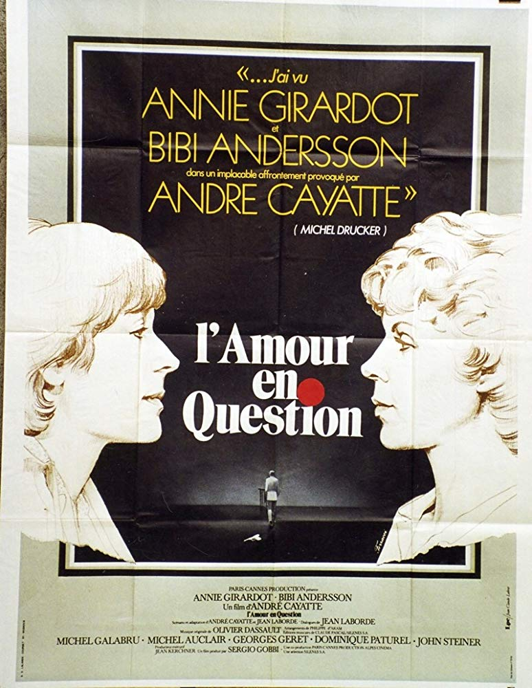 poster L'amour en question (1978)