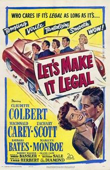 poster Let's Make It Legal (1951)