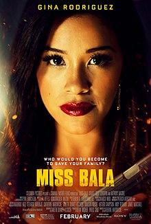 poster Miss Bala (2019)