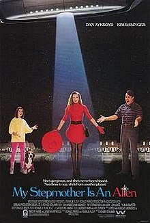 poster My Stepmother Is an Alien (1988)
