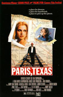 poster Paris, Texas (1984)