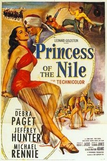 poster Princess of the Nile (1954)