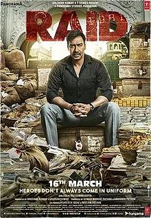 poster Raid (2018)