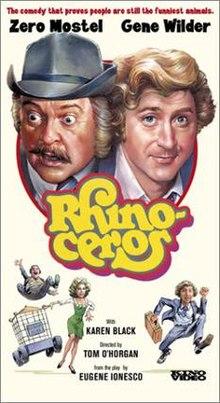 poster Rhinoceros (1974)