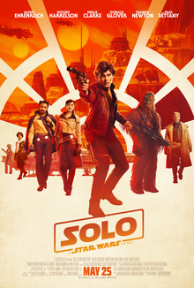 poster Solo A Star Wars Story (2018)