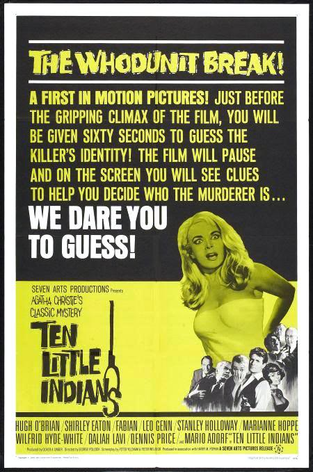 poster Ten Little Indians (1965)