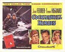 poster The Cockleshell Heroes (1955)
