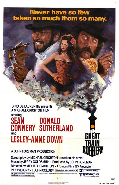 poster The Great Train Robbery (1978)