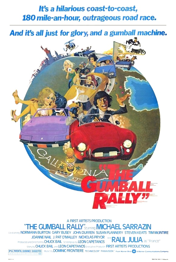 poster The Gumball Rally (1976)
