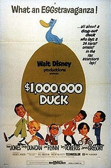 poster The Million Dollar Duck (1971)