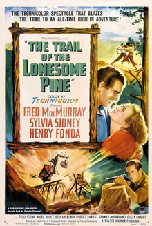 poster The Trail of the Lonesome Pine (1936)