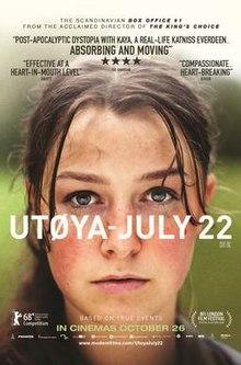poster Utoya July 22 - Utoya July 22 (2018)