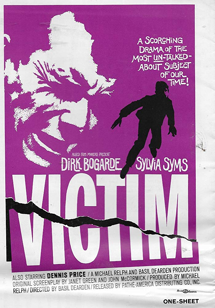 poster Victim (1961)