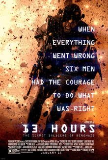 poster 13 Hours The Secret Soldiers of Benghazi (2016)