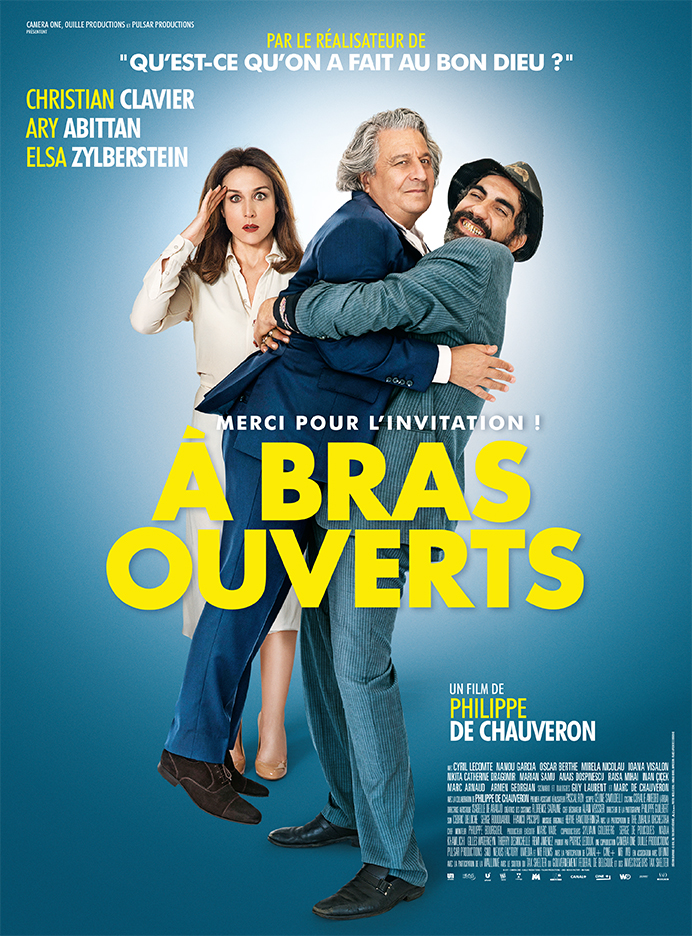 poster A bras ouverts (2017)