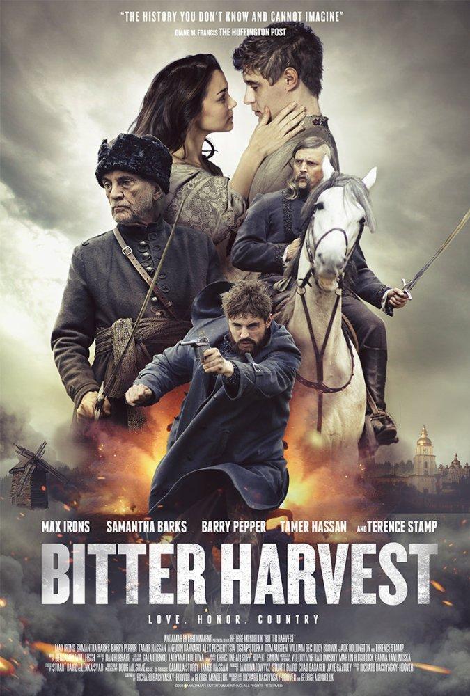 poster Bitter Harvest (2017)