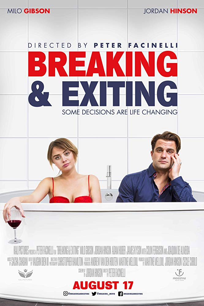 poster Breaking & Exiting (2018)