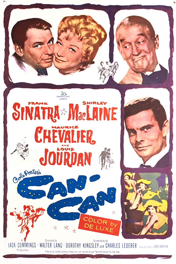 poster Can-Can (1960)