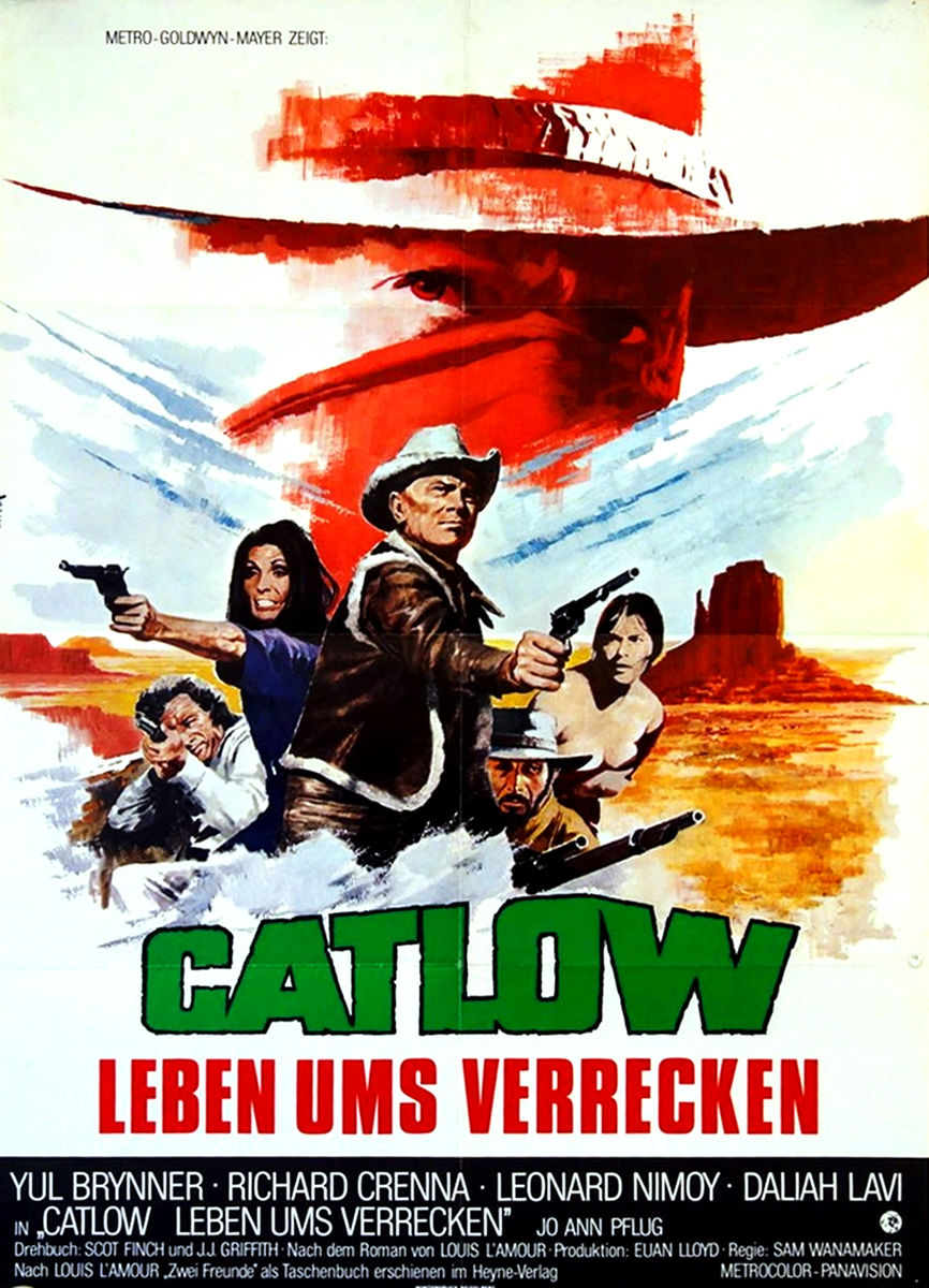 poster Catlow (1971)