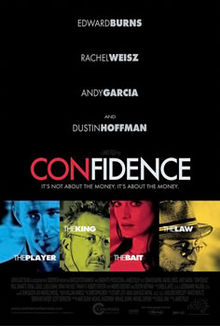 poster Confidence (2003)