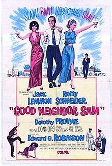 poster Good Neighbor Sam (1964)