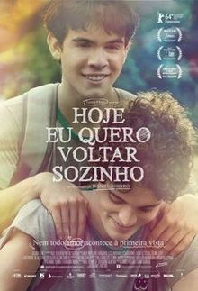 poster Hoje Eu Quero Voltar Sozinho (2014)