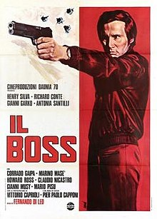poster Il boss (1973)