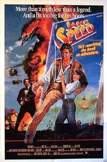 poster Jake Speed (1986)