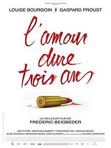 poster L'Amour Dure Trois Ans (2011)