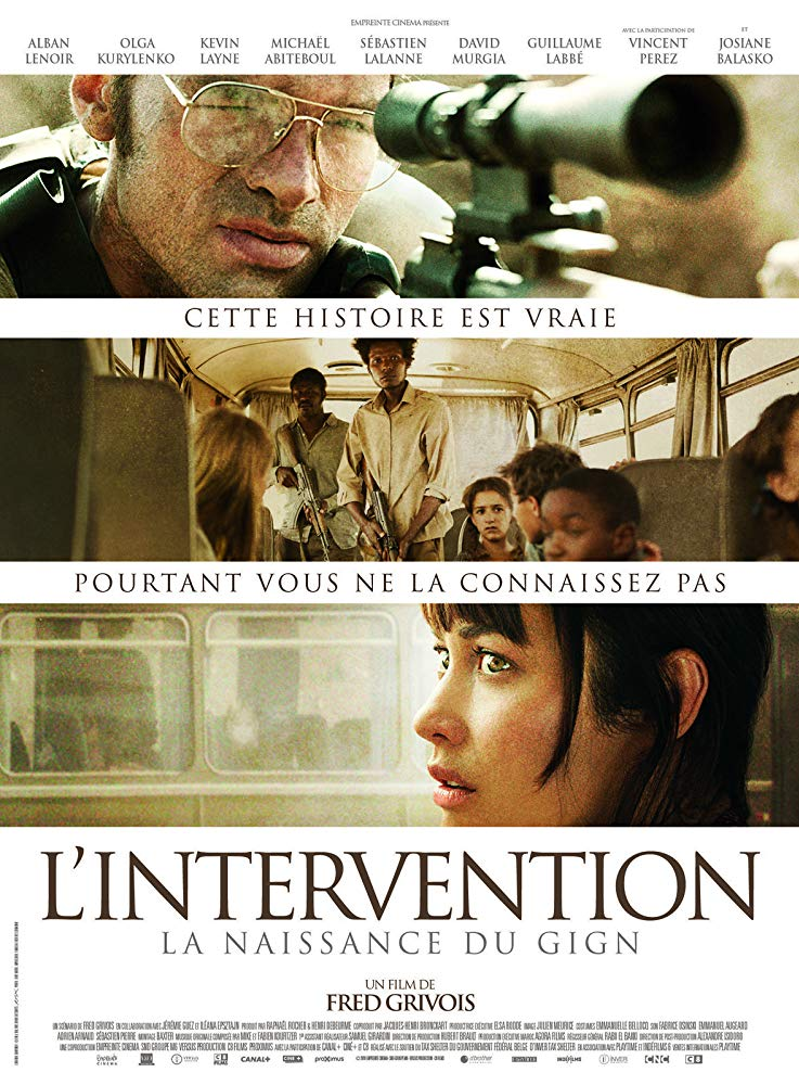 poster L'intervention (2019)