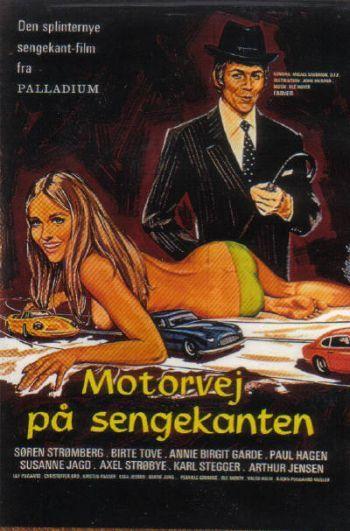 poster Motorvej pa sengekanten (1972)