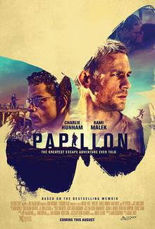 poster Papillon (2017)