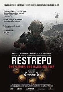 poster Restrepo (2010)