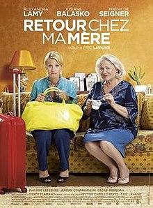 poster Retour Chez Ma Mere (2016)