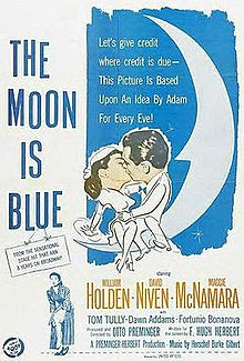 poster The Moon Is Blue (1953)
