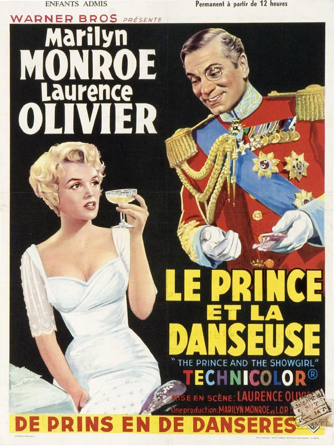 poster The Prince and the Showgirl (1957)