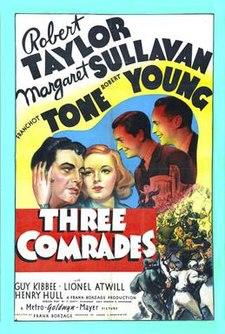 poster Three Comrades (1938)