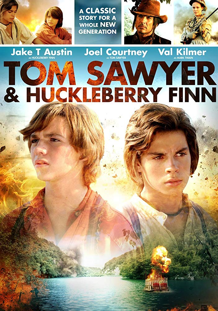 poster Tom Sawyer and Huckleberry Finn (2014)
